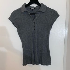 Express Females Polo Grey Size S
